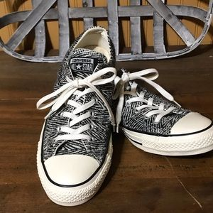 "Converse All Star ""Zebra"" pattern sneakers"